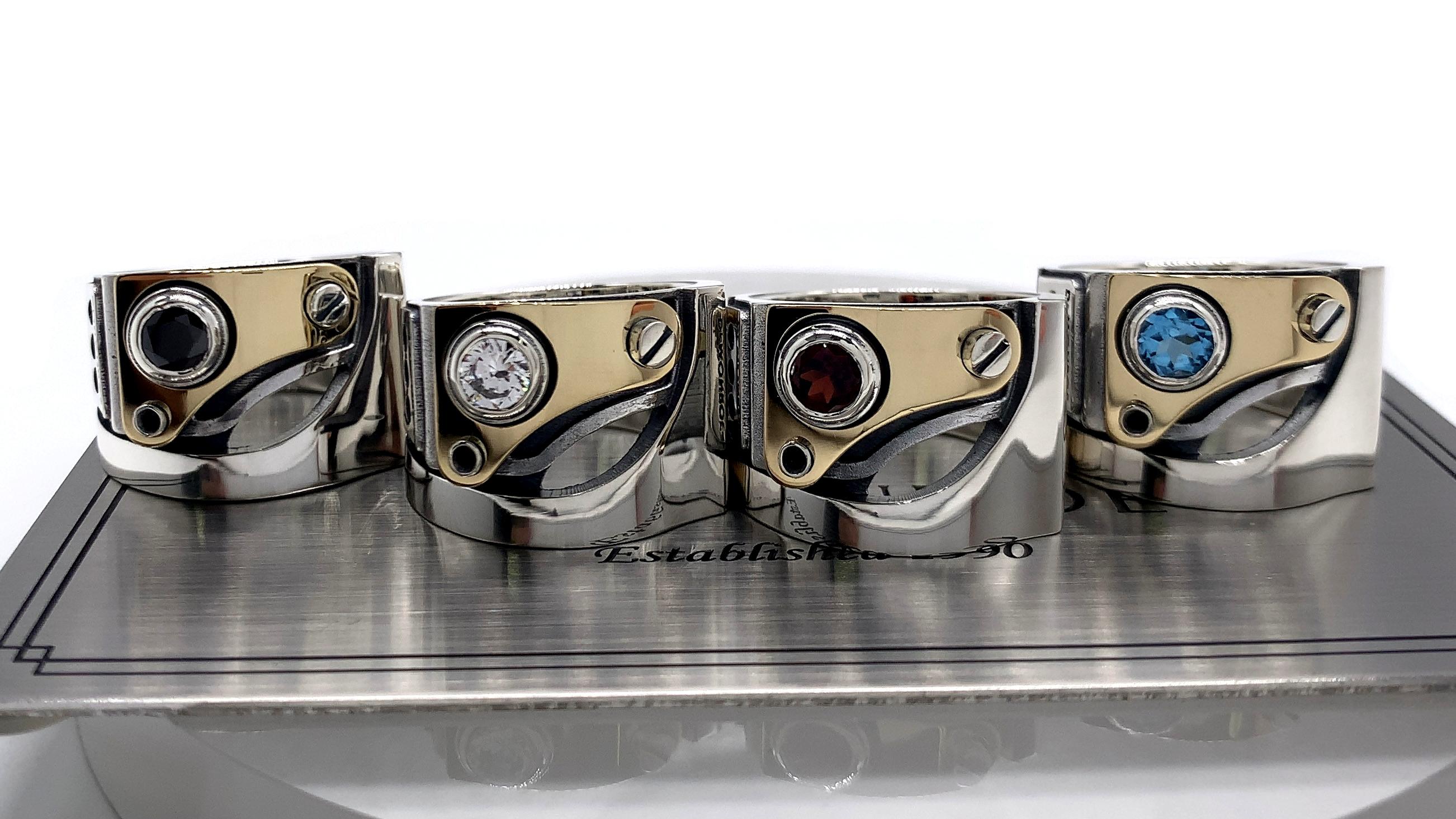 メンズリング、fc104k、シルバー925製